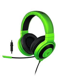 New Razer Kraken Pro unveiled, includes in-line volume and mic controls