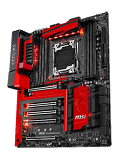 MSI releases ultra-high-end X99A Godlike Gaming motherboard (Updated)
