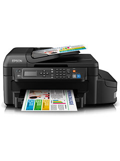 The Epson L655 ink tank printer offers high print quality and low cost per page at the same time