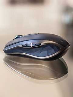 Take a look at the Logitech MX Anywhere 2, Logitech's most advanced wireless mouse