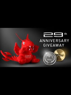 MSI is celebrating its 29th anniversary with exciting freebies