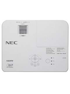 NEC's new V series projectors are suitable for educators and businesses