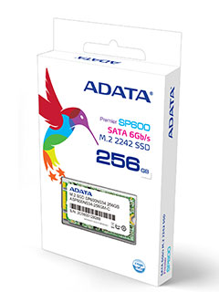 ADATA launches new ultrabook-friendly M.2 SATA 6Gbps SSD