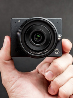 The E1 camera is a 4K GoPro killer that does interchangeable lenses