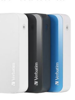 Verbatim launches new 10,400mAh power bank with 2.1A and 1A outputs