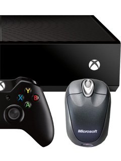 The Xbox One is getting mouse support and more