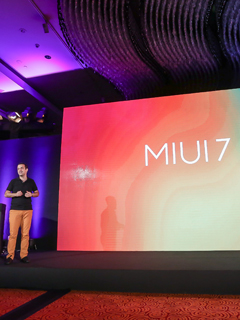 The MIUI 7 interface is out with fun features for all