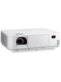 NEC's new M3 series portable projectors are well suited for classrooms and mid-sized meeting rooms