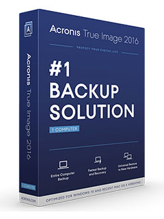 Acronis launches True Image 2016 and True Image Cloud, adds backup for mobile devices