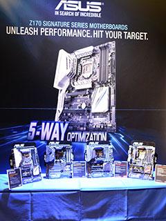 ASUS' Intel Z170 Skylake motherboards unveiled