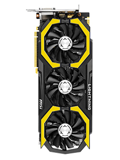MSI announces GeForce GTX 980 Ti Lightning for overclockers