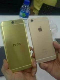 Photos of HTC Aero phone leaked, reveals an Apple iPhone 6-like design