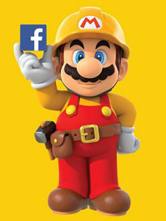 Facebook hacks Nintendo to create new levels for Super Mario Maker
