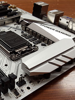 A sneak peek at the MSI Z170A XPower Gaming Titanium Edition