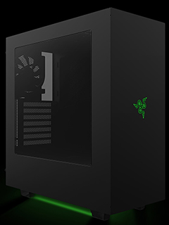 There's a custom NZXT S340 mid-tower chassis from Razer
