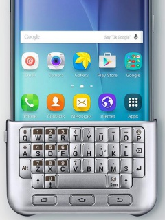 Samsung to unveil an optional QWERTY keyboard case for the Galaxy S6 edge+?
