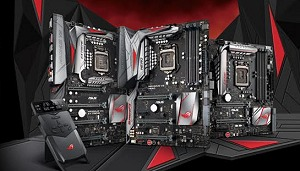 ASUS Z170 ROG motherboards unveiled!