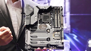 ASUS TUF series Z170 Skylake motherboards in the flesh