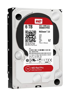 WD's high-end Red Pro and Black drives are now available in 5TB and 6TB capacities