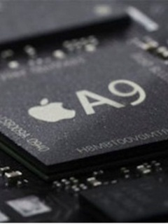 Two different sized A9 chipsets found in the Apple iPhone 6s, one is 10% smaller