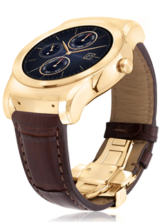 LG to ship limited edition 23-karat gold Urbane Luxe smartwatch