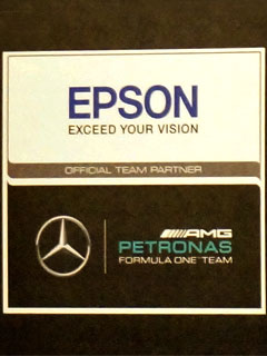 Epson struts their latest gear in conjunction with Singapore's F1 night race