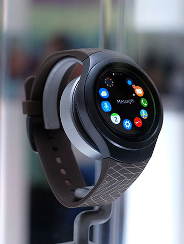 Samsung's latest smartwatch to be Apple iOS compatible?
