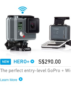 GoPro unveils entry-level Hero+, slashes price of Hero4 Session by S$140