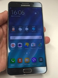 Samsung Galaxy Note 5 available in Titanium Silver and Pearl White from 26 Sep