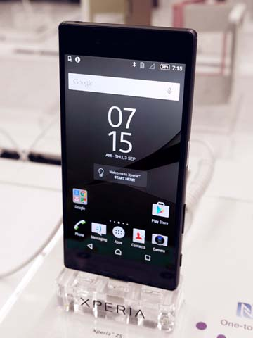 Hands-on: Sony Xperia Z5 & Z5 Compact