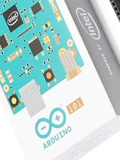 The Intel Curie module will soon debut on the Arduino 101 development board
