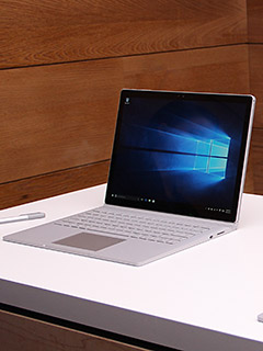 First impressions of the Microsoft Surface Book laptop