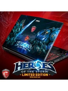 MSI announces limited edition Heroes of the Storm gaming notebooks