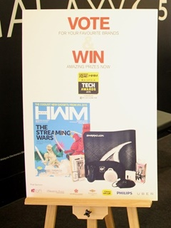 The HWM+HardwareZone.com.my Tech Awards 2015 survey booth is at Plaza Low Yat