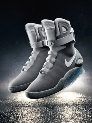 Nike unveils real self-lacing Back to the Future MAG sneakers