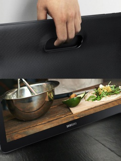 Samsung officially unveils the 18.4-inch Galaxy View, weighs more than 2kg!