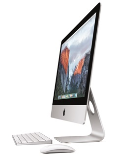 Apple has updated its entire iMac family, bringing 4K display to the 21.5-inch iMac