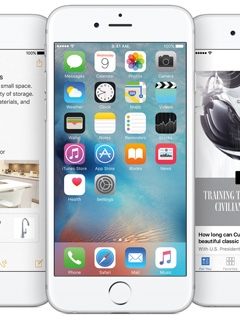 Apple's App Store data shows that over 60% of devices currently run on iOS 9