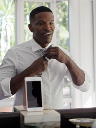 Watch Jamie Foxx and NBA star Steph Curry in Apple's new iPhone 6s commercials