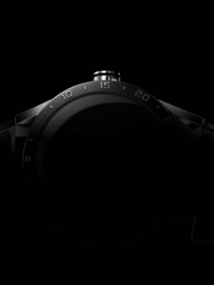 Here's a teaser image of Tag Heuer's upcoming Carrera Wearable 01
