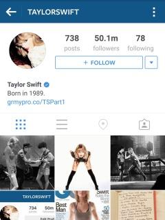 Top five most-followed Instagram accounts belong to female celebrities