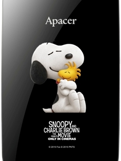 Take Snoopy with you wherever you go with these limited-edition Apacer products
