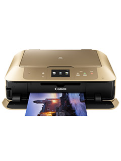 The new Canon Pixma MG7770 wireless AIO printer is the first Canon printer to come in gold