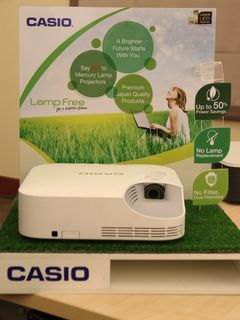 Casio to introduce low-maintenance, lamp-free, eco-friendly XJ-V2 projector