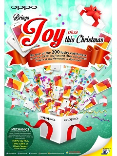 OPPO partners with MemoXpress to bring joy this Christmas