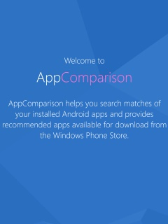 Microsoft's AppComparison wants to lure Android users to Windows 10 Mobile