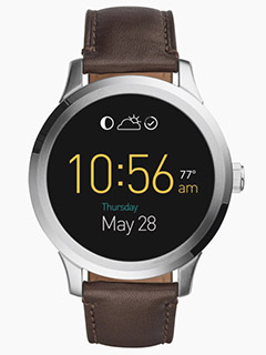 Fossil enters the world of smartwatches with the Q Founder