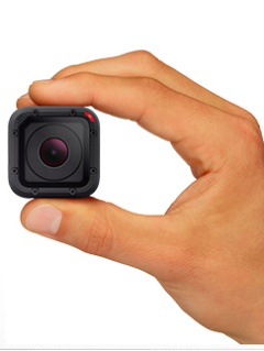 Polaroid maker sues GoPro over the design of HERO4 Session