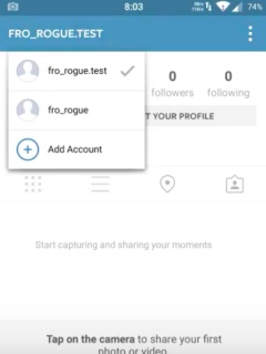 There might be a way to help you manage multiple Instagram accounts soon