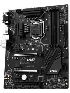 Dressed in black: MSI's new Z170 SLI Plus